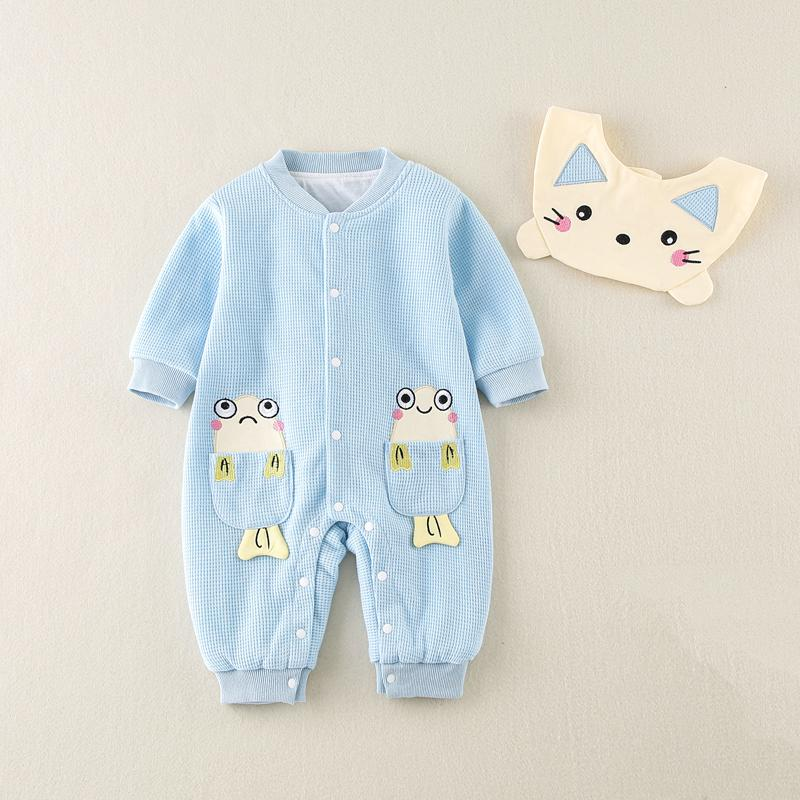 Cat Pattern Jumpsuit for Baby