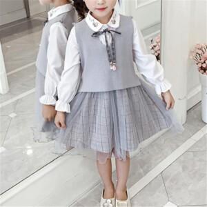 Plaid Dress for Girl