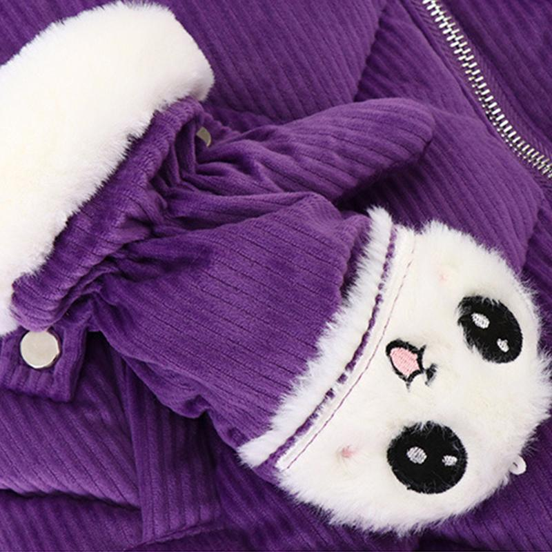 Thick Puffer Jacket for Girl