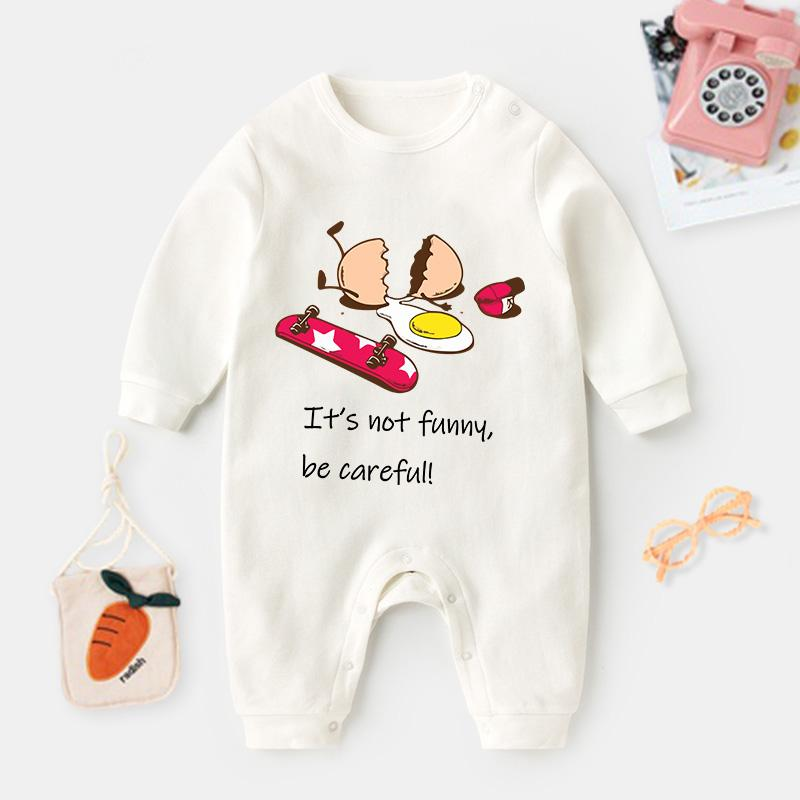 Egg Pattern Jumpsuit for Baby