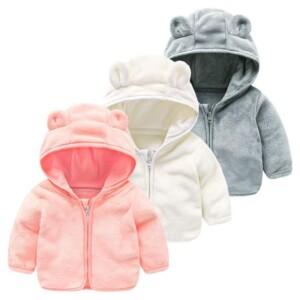 Fleece-lined Coat for Toddler Girl
