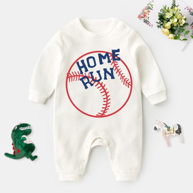 Baseball Pattern Jumpsuit for Baby