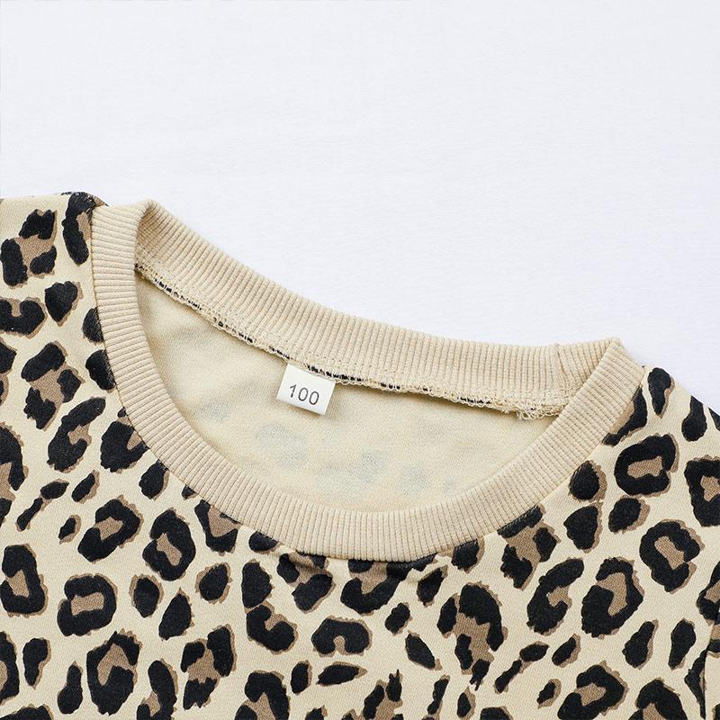 Leopard Sweatshirts for Toddler Girl