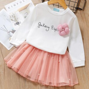 2-piece Sweatshirts & Skirt for Toddler Girl