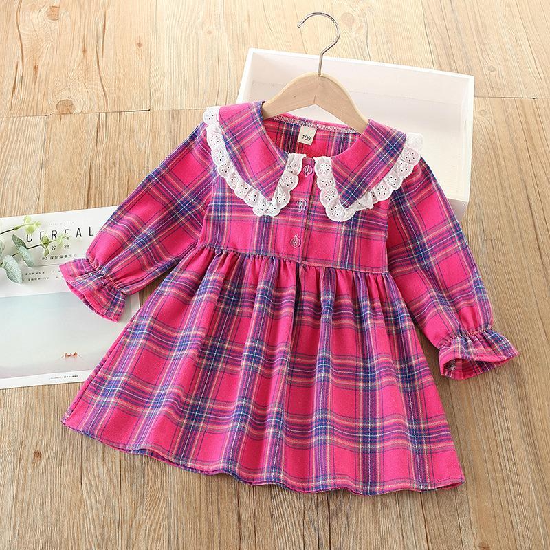 Plaid Dress for Toddler Girl