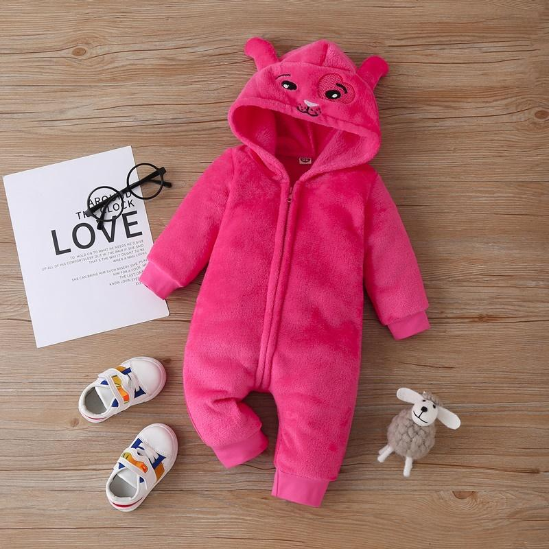 Cartoon Pattern Jumpsuit for Baby Girl
