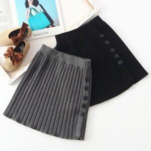 Knitted Skirt for Girl