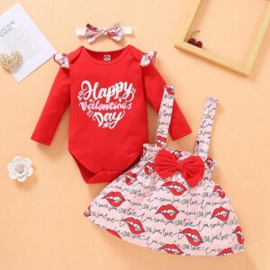 3-piece Dress Set for Baby Girl