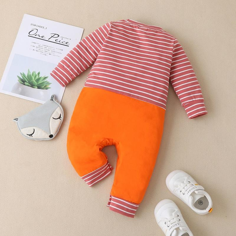 Fox Pattern Jumpsuit for Baby