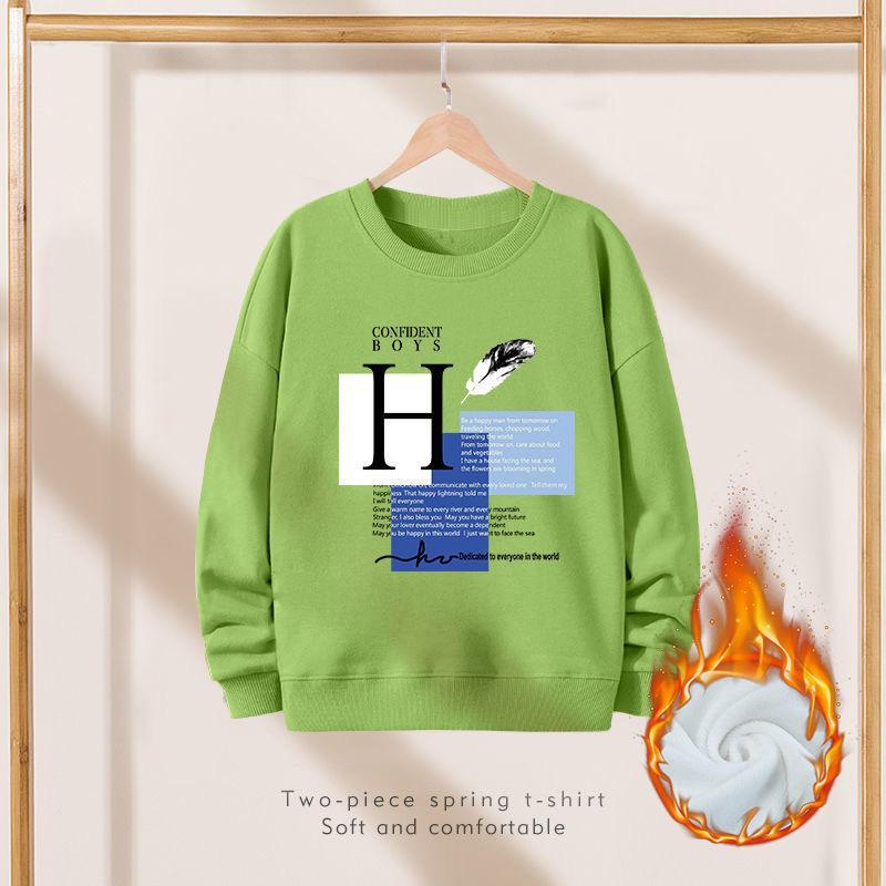 Fleece-lined Sweatshirts for Boy