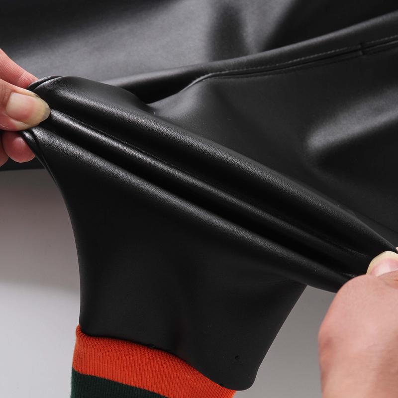 PU Fleece-lined Boot Pants for Toddler Girl
