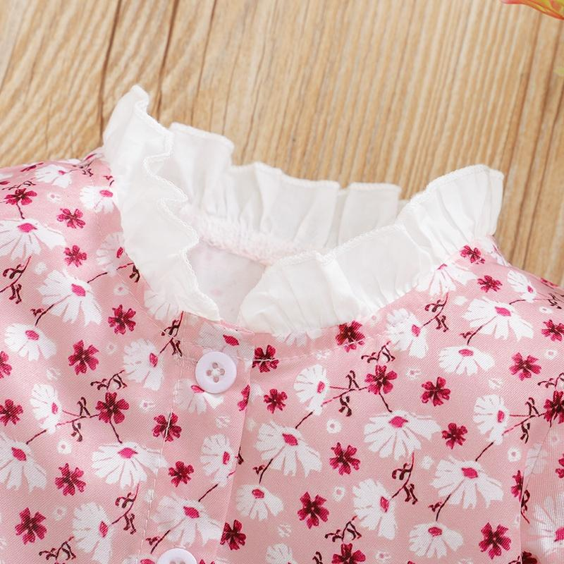 Ruffle Floral Dress for Baby Girl