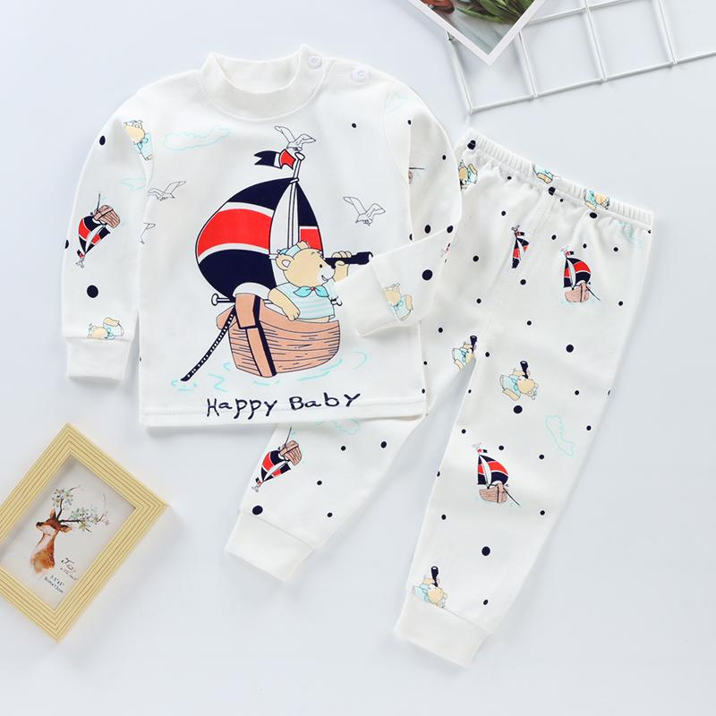 2-piece Cartoon Pajamas Sets for Toddler Boy