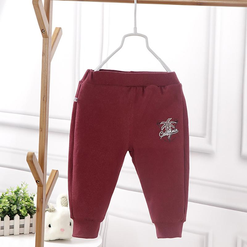 Rabbit Pattern Sports Pants for Toddler Girl