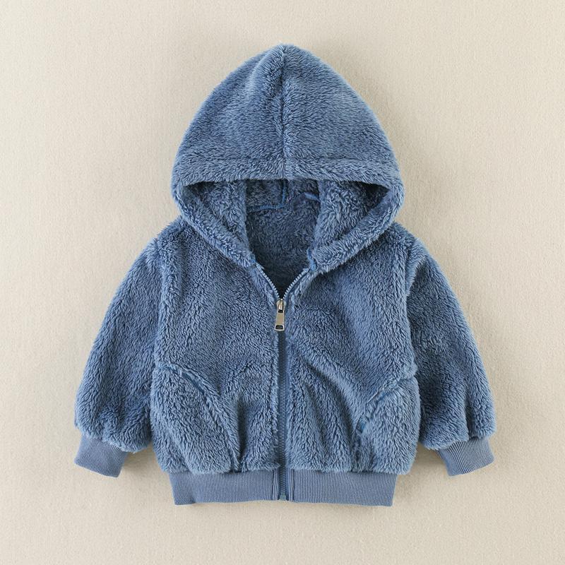 Flannel Coat for Toddler Girl