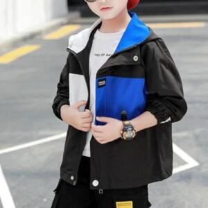 Color-block Jacket for Boy