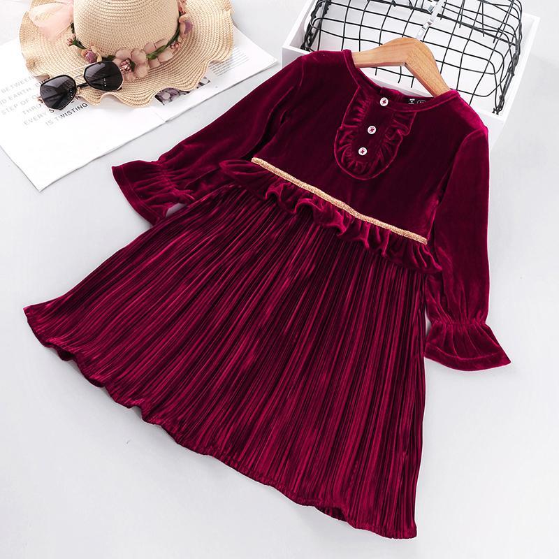 Long Sleeve Dress for Toddler Girl