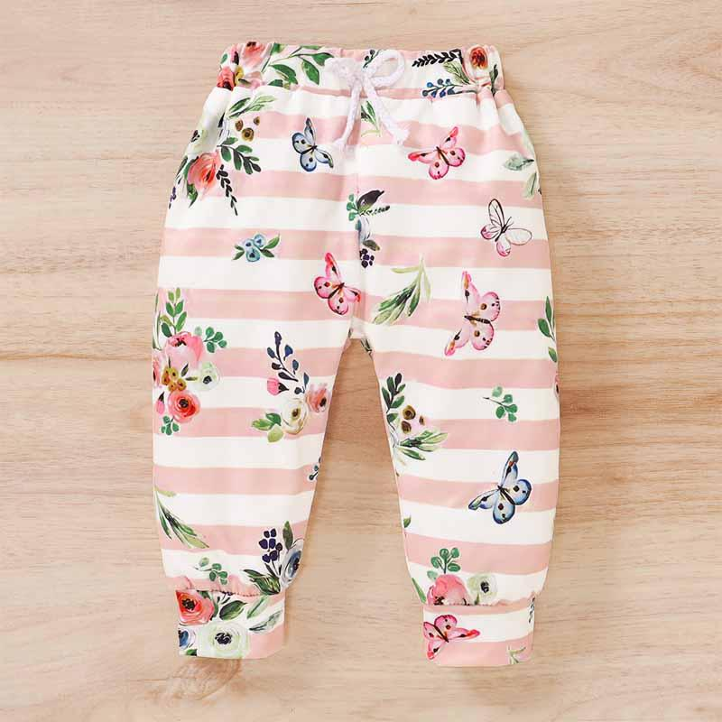 3-piece Headband & Sweatshirt & Pants for Baby Girl