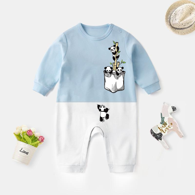 Panda Pattern Jumpsuit for Baby
