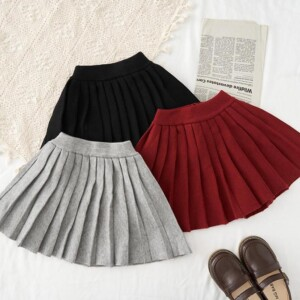 Pleated Skirts for Toddler Girl
