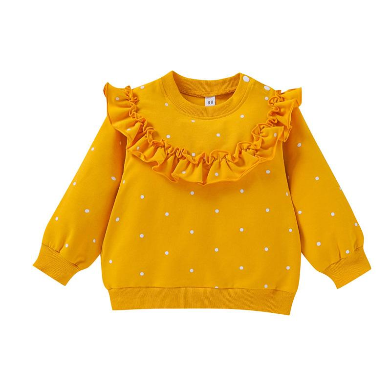 Ruffle Long Sleeve T-shirt for Baby Girl