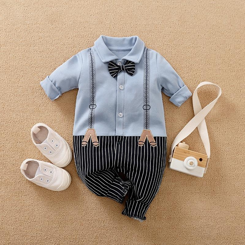 Bowknot Jumpsuit for Baby Boy