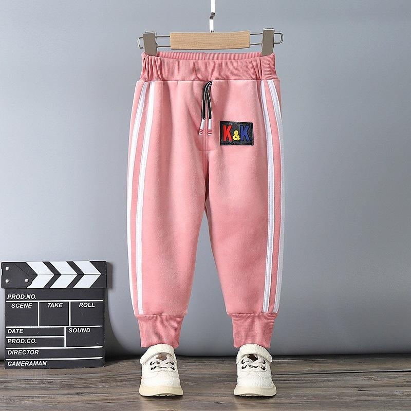 Fleece-lined Sports Pants for Toddler Boy