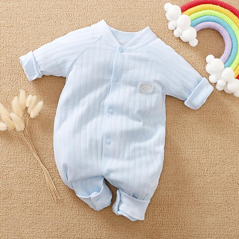 Bear Pattern Jumpsuit for Baby