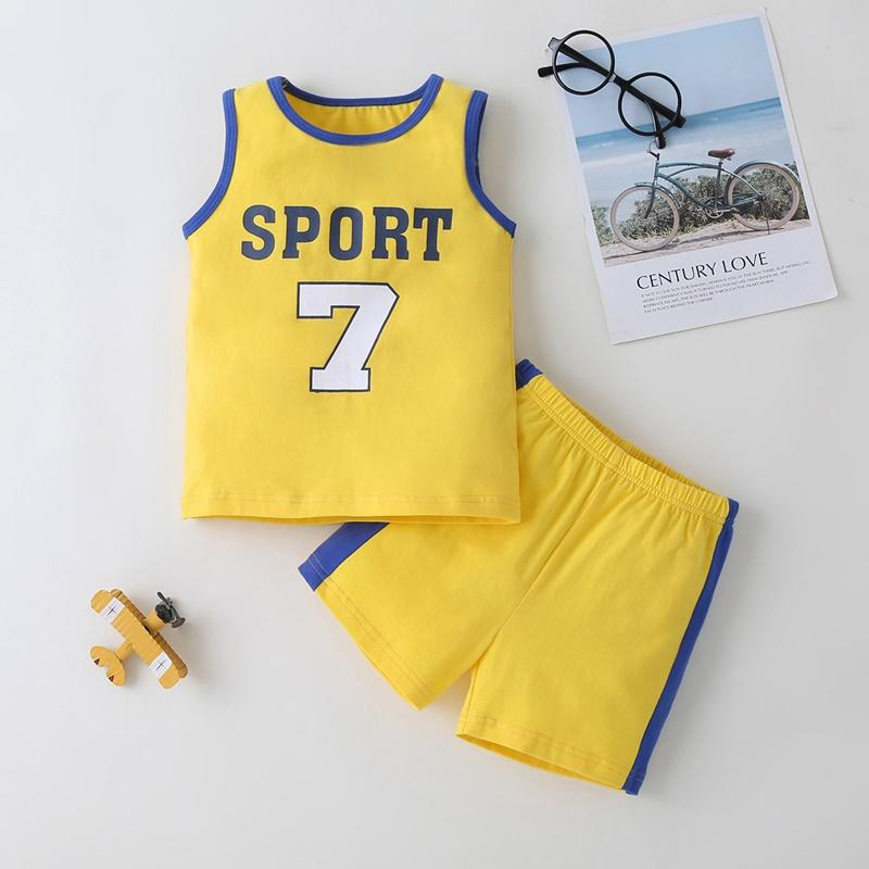 2-piece Vest & Shorts for Toddler Boy