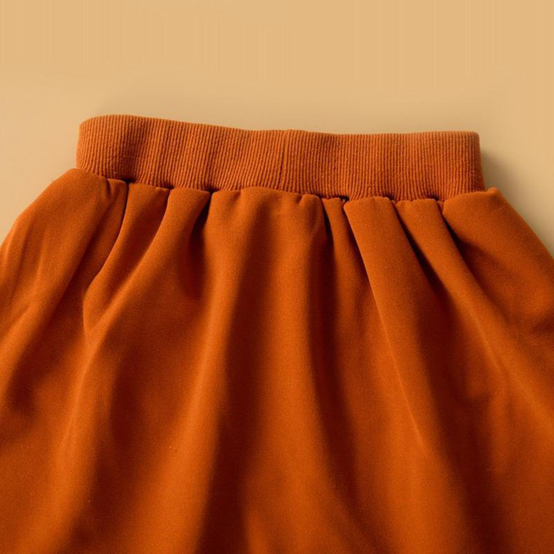 Buttons Skirt for Toddler Girl