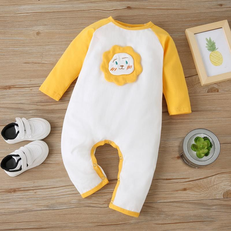 Lion Pattern Jumpsuit for Baby