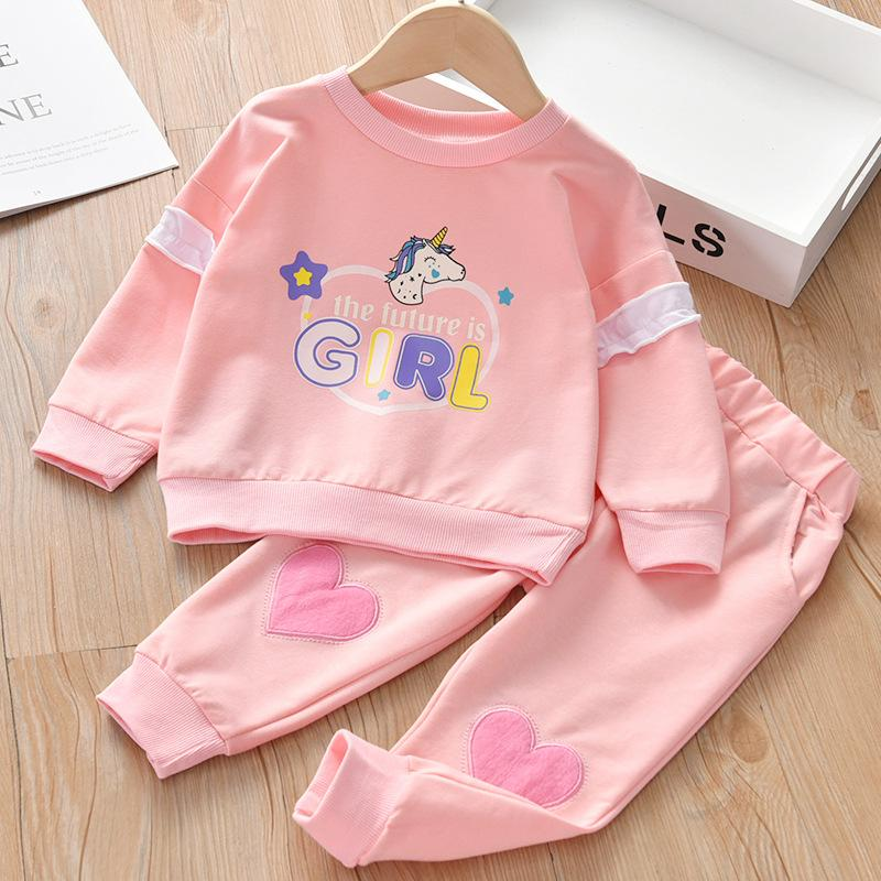 2-piece Pullover & Pants for Toddler Girl