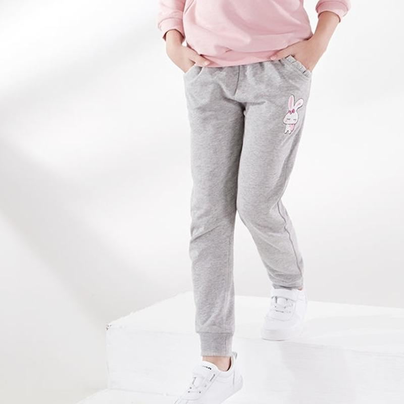 Rabbit Pattern Sports Pants for Girl