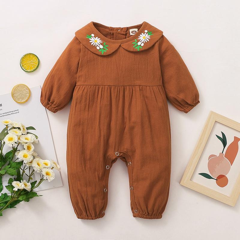 Floral Pattern Jumpsuit for Baby Girl