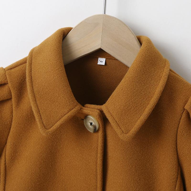 Duffle Coat for Toddler Girl