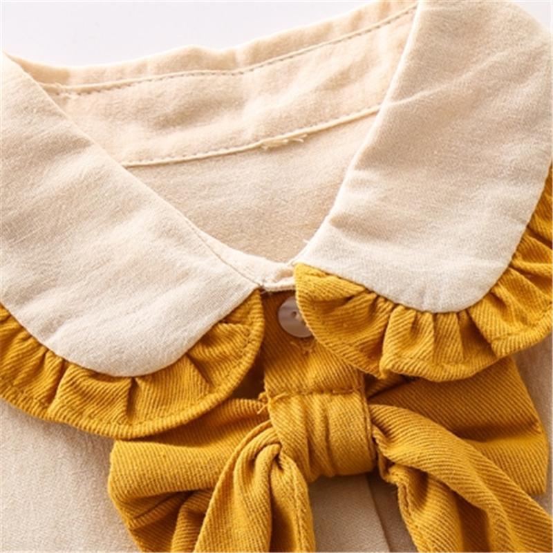 2-piece Ruffle Shirt & Pants for Girl