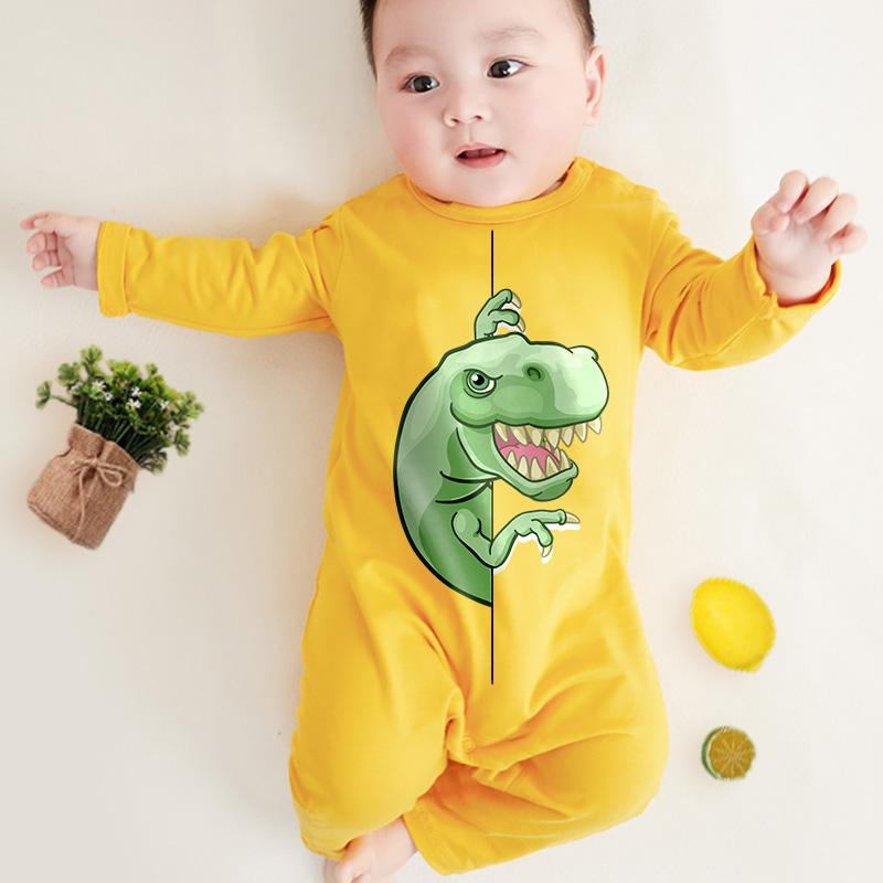 Dinosaur Pattern Jumpsuit for Baby