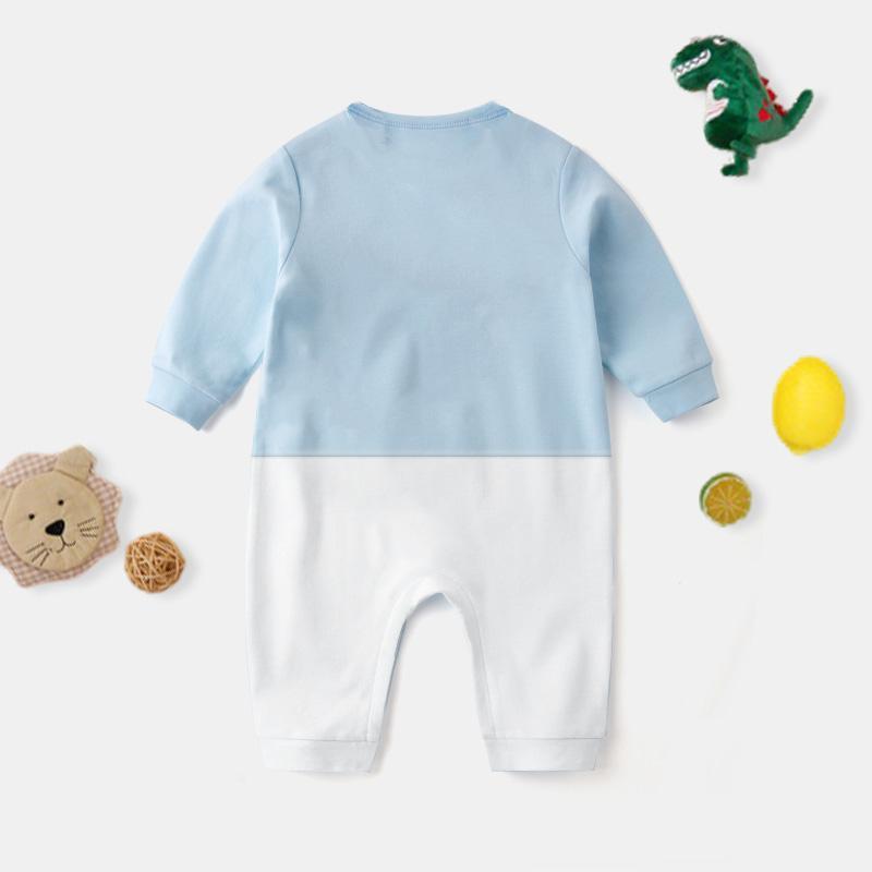 Zipper Pattern Jumpsuit for Baby