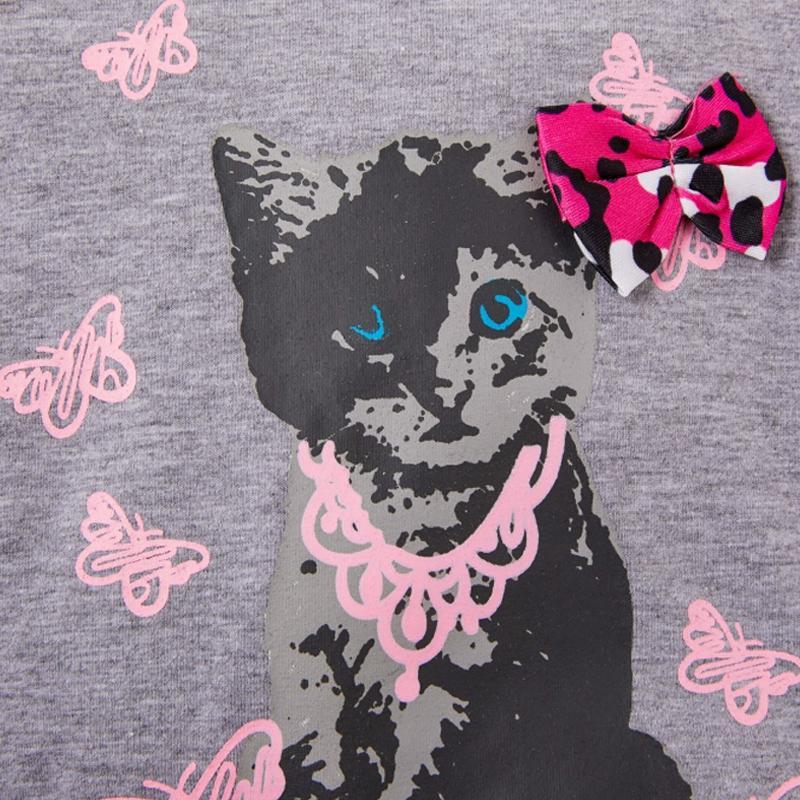 2-piece Sweatshirt & Leopard Pants for Toddler Girl