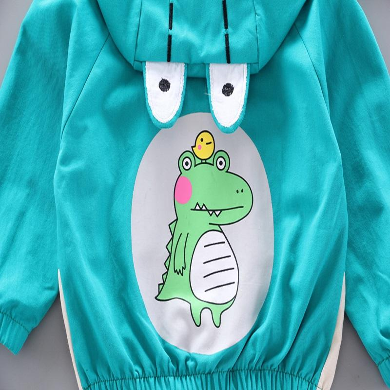 Dinosaur Pattern Coat for Toddler Boy