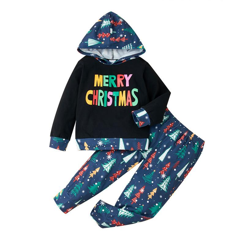 2-piece Christmas Suit for Toddler Boy