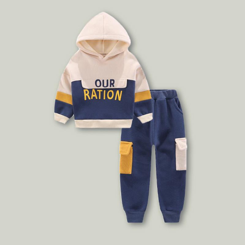 2-piece Fleece Hoodie & Pants for Boy