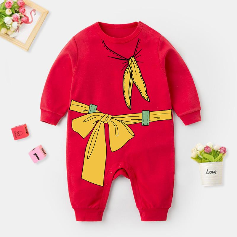 Bowknot Pattern Jumpsuit for Baby