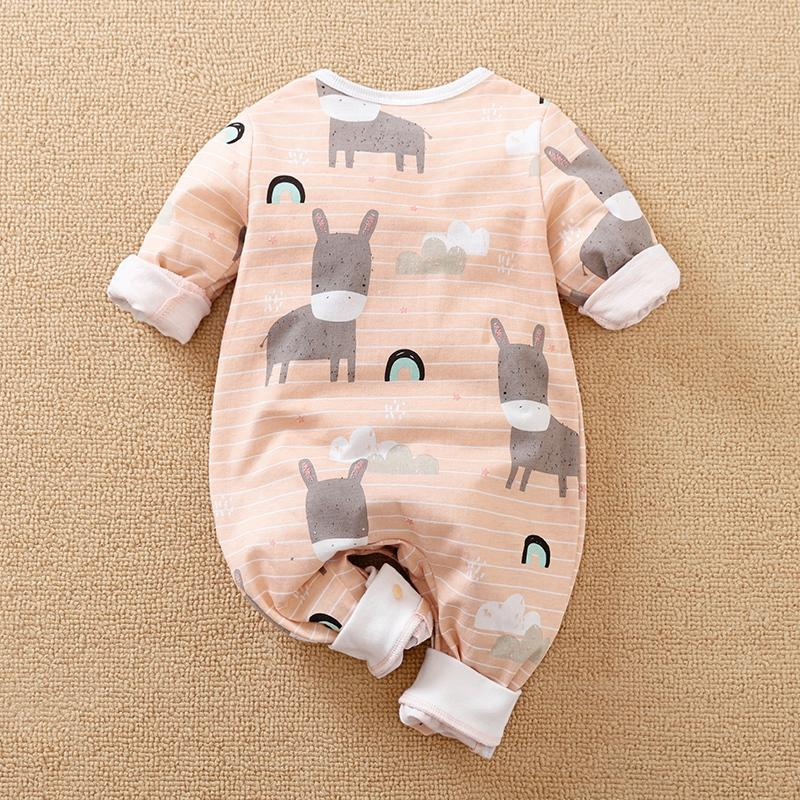 Little Donkey Jumpsuit for Baby Girl