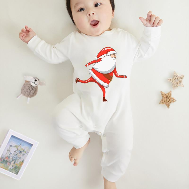Santa Claus Pattern Jumpsuit for Baby
