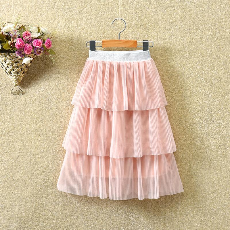 Mesh Skirt for Toddler Girl