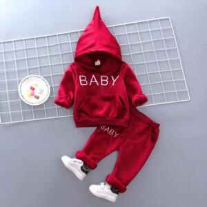 2-piece Fleece Hoodie & Pants for Toddler Boy