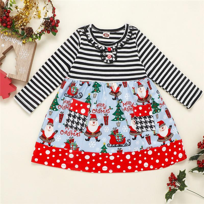 Christmas Dress for Toddler Girl
