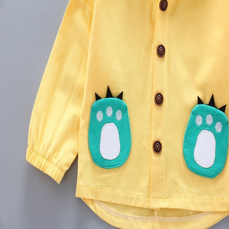 Animal Pattern Coat for Toddler Boy