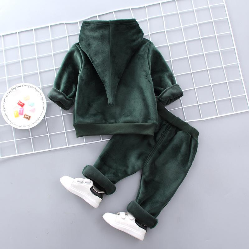2-piece Fleece Hoodie & Pants for Toddler Boy